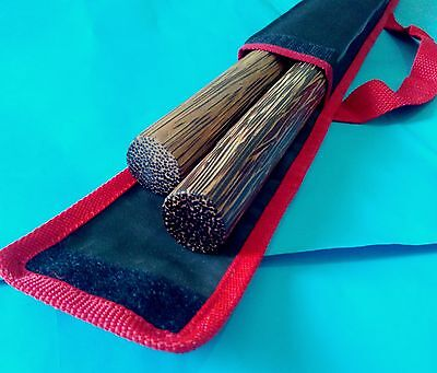 "2 Bahi sticks 20""(51 cm) Palm ironwood  escrima Arnis Escrima Serrada Philippine"