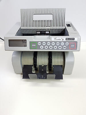 DeLaRue Countess by Brandt 8641D currency money cash counter *READ*
