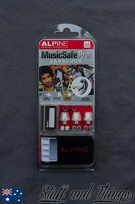 Alpine Music Safe Pro Earplugs - Hearing protection for Musicians/Gigs/Concerts