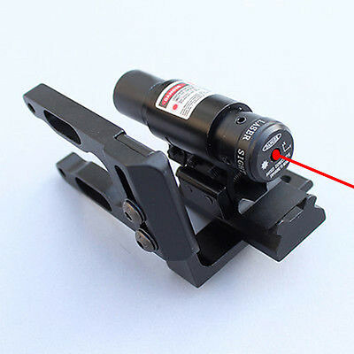 Red Dot Laser Sight Scope+ Bracket  Mount For Hunting Archery Compund Bow