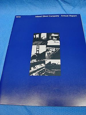 1972 Inland Steel Company Annual Report