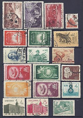 China PRC Old Mixture Stamps Used (See Scan) Lot 3