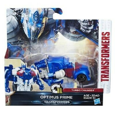 New Transformers The Last Knight 1-Step Turbo Changer Optimus Prime C1312