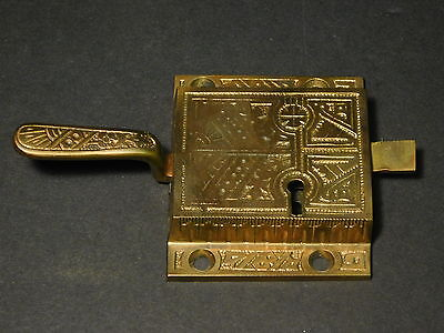 Architectural Salvage Ornate Solid Bronze Lever-Style Door Latch Handle