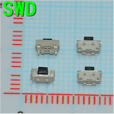 10pcs 2*4*3.5 MM Micro SMD Tact Switch Side Button Switch MP3 MP4 MP5 Tablet PC