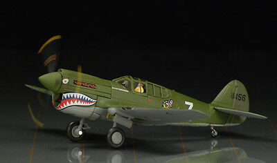 "Corgi Aviation Archive AA35208 1:72 Scale Diecast P-40E Warhawk ""White 7"""