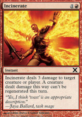 4x Incinerate NM-Mint English Ice Age MTG Magic