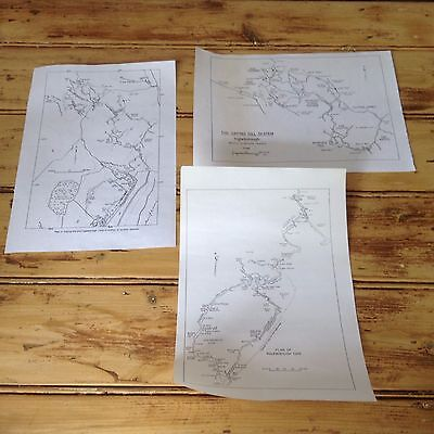 Gapping Gill And Ingleborough Cave Maps