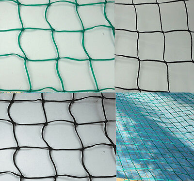 Pond safety nets / cover safe net child proof pond guard pool / METRE BLACK/BLUE