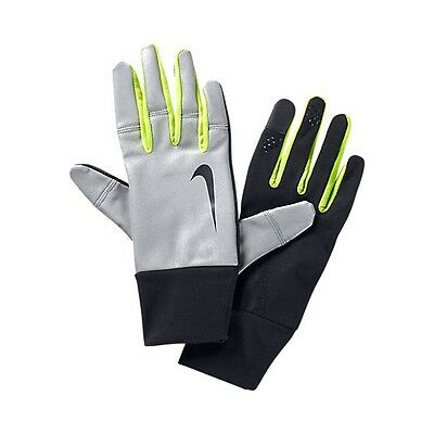 Nike Mens Vapor Flash Running Gloves Enhanced Visibility Reflective L Rrp £42