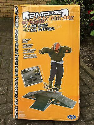 Rampage 4 Way Fun Box Ramps and Jumps - New And Still Boxed