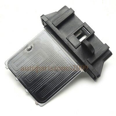 12 Isuzu DMax Blower Motor Heater Fan Resistor 8980493940 Manual Climate Control