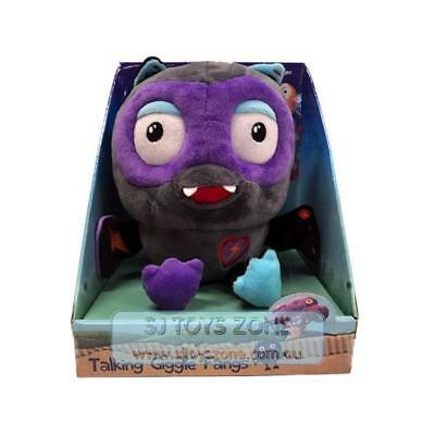 Giggle and Hoot ABC Kids Talking Giggle Fangs Interactive Soft Plush Kids Toy