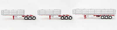 New Drake Maxitrans Freighter B-Triple Road Train Trailer Betts Bower 1:50