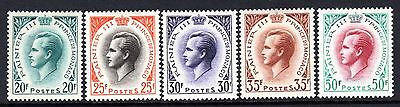(132)     Monaco Prince Rainier III Stamps Issued in 1957 & 1959 M/Mint