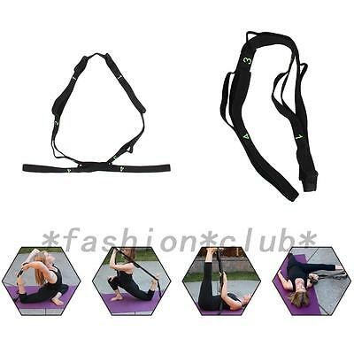 25CM Sport Yoga Stretch Strap Belt Gym Waist Leg Fitness Adjustable Belt 1PCS