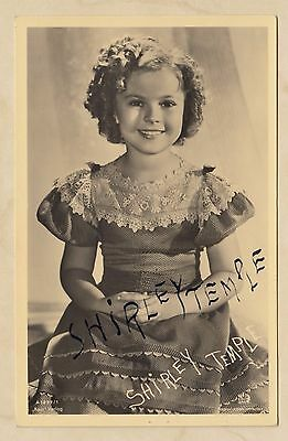 Shirley Temple (+) - signierte Ross-Karte