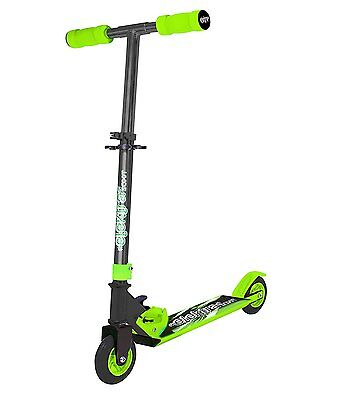 Ozbozz ELEKTRA Kids Adjustable Folding Scooter In Green [Ages 5+] *BRAND NEW*