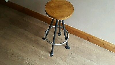 Vintage industrial stool