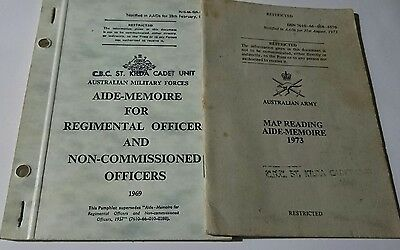 Two Australian Army Booklets /l pamphlets