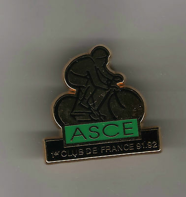 pin's.cyclisme.CYCLING..CORBEIL ESSONNE..ASCE 1 CLUB DE FRANCE...QUALITE ARTHUS