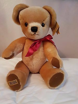 Merrythought London Gold Bear - New - 21 inch
