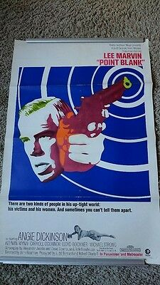 Point Blank (1967) - Original US one sheet poster 27 x 41