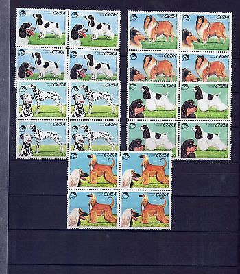 "1994, Fauna ""PERROS // DOGS"" Block of 4. New Mint"