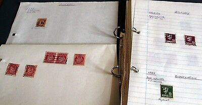 250+ Norway & Iceland Stamps In Binder, 1877-1984, Many Fine Sets, Fine Used.
