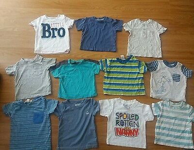 Baby Boys T-Shirt Bundle 3-6 Months