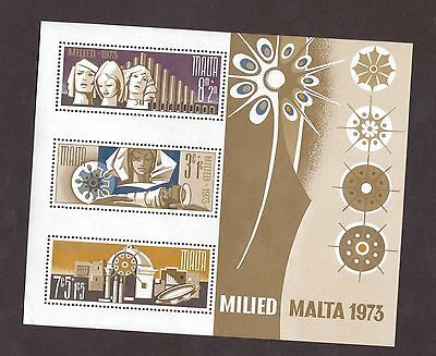Malta B15a in Mint Never Hinged Condition (1973)