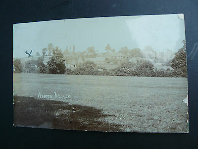 Napton Village Real Photo RP Postcard - Warwickshire