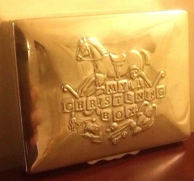 Silver Plated Christening Box