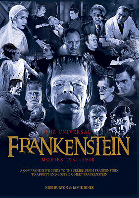 The Universal Frankenstein Movies 1931-1948 horror movie series guide magazine