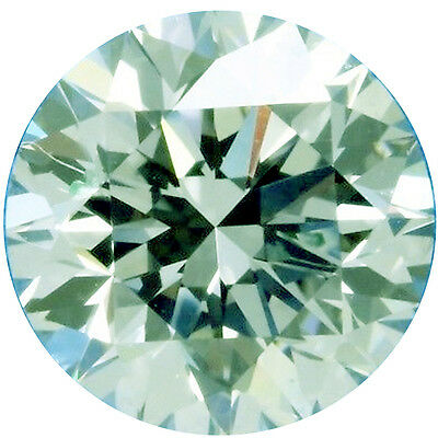 0.86 ct VVS1/6.11 mm GENUINE ICE WHITE COLOR ROUND LOOSE REAL MOISSANITE 4 RING