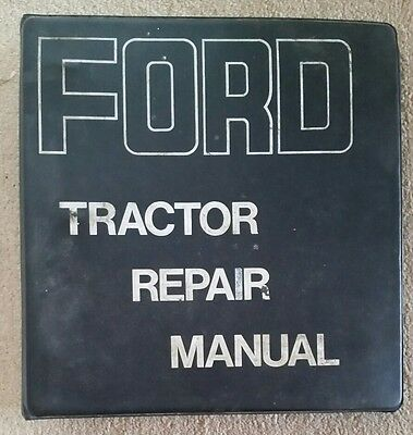 Ford 2000 To 5000 Tractor Service Manual