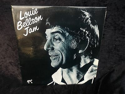 LOUIE BELLSON jam 1979 PABLO UK issue N/M vinyl jazz LP