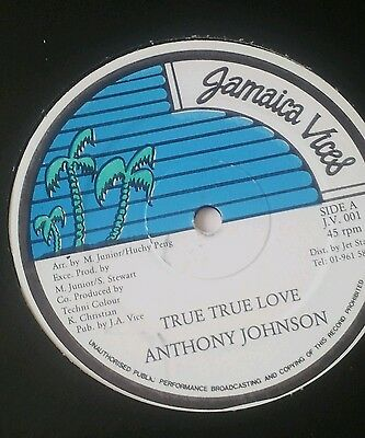 Anthony Johnson / true true love / reggae vinyl