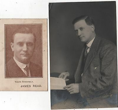 Signed Real Photo Postcard - James Read Councillor For Coventry