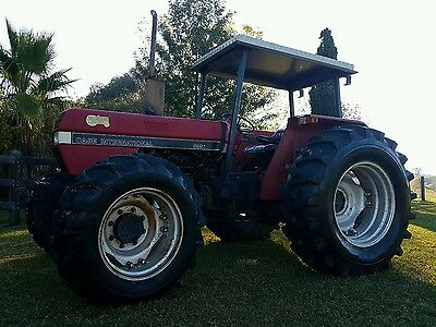 Case international 595 diesel 4x4 tractor with 3 point linkage
