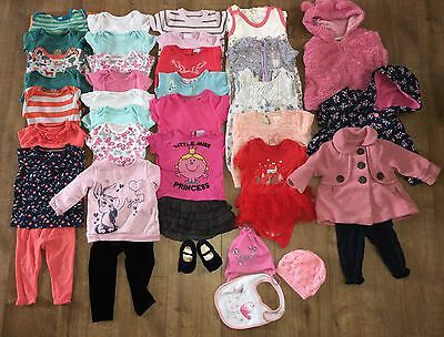 Baby Girl 6-9 Months Bundle 40 items