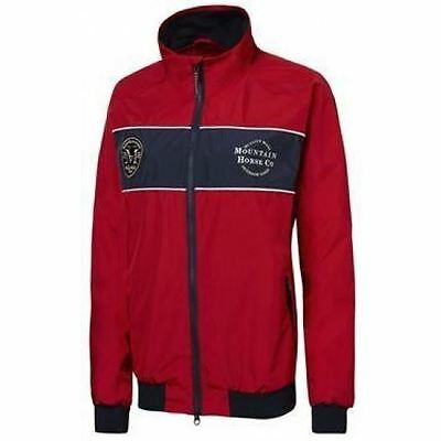 Mountain Horse Junior Athletic Jacket - Royal Red