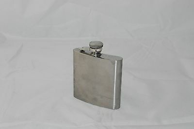 Flask Stainless Steel 6oz