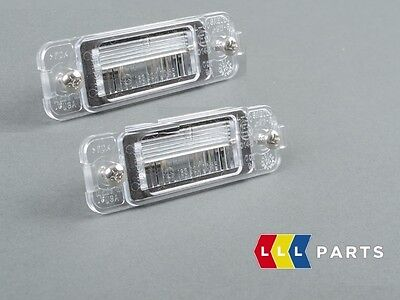 New Genuine Mercedes Benz Mb Ml W163 Facelift License Plate Light 2Pcs