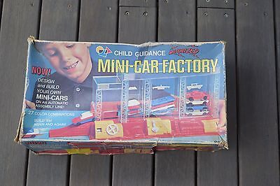 Child Guidance Motorised Car Factory - Vintage Collectable Toy Model Car