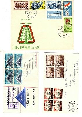 South Africa - 3 FDCs from 1953/1960