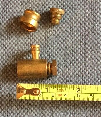 Vintage Assortment of 3 Brass Fittings