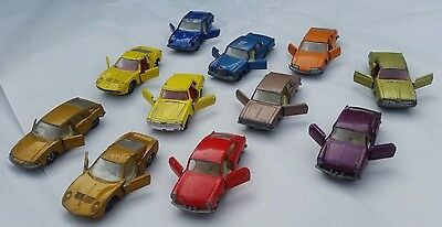 Lesney, Matchbox, Corgi collection of diecast cars (Lot # 6)
