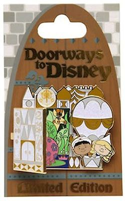 Disney Pin - Doorways to Disney Its a Small World LE 4000 ** Pre-Sale Item **