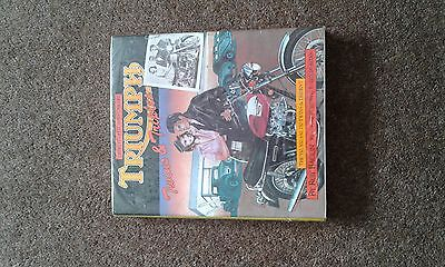 Triumph twins and triples by Roy bacon vintage motorcycle book